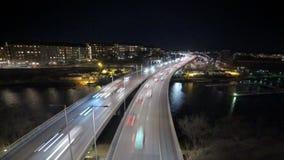 Ville de Stockholm la nuit clips vidéos