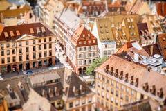 Ville de Strasbourg dans les Frances Photos stock
