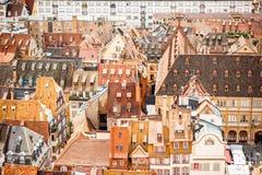 Ville de Strasbourg dans les Frances Photographie stock