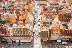 Ville de Strasbourg dans les Frances Photographie stock libre de droits