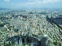 Ville de Taïpeh de vue supérieure Photos stock