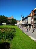 Ville de Tallinn en été Images stock