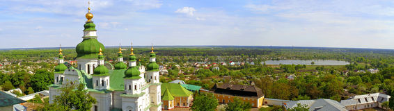 Ville de Tchernigov, Ukraine Photos stock