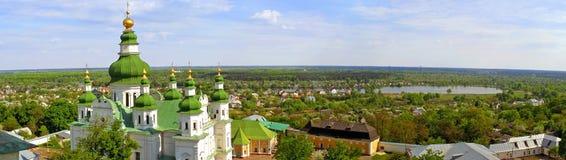 Ville de Tchernigov, Ukraine photos stock