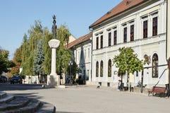 Ville de Tokaj, Hongrie images stock