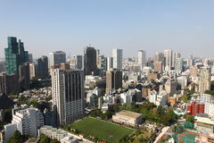 Ville de Tokyo Image stock