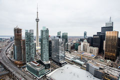 Ville de Toronto Photographie stock libre de droits