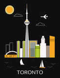 Ville de Toronto. illustration libre de droits