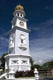 ville de tour d'héritage de george d'horloge image libre de droits