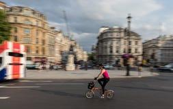 Ville de Trafalgar Square de Londres photographie stock libre de droits