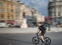 Ville de Trafalgar Square de Londres photos stock