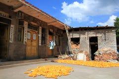 Ville de tunbao de Tianlong dans la porcelaine Photographie stock