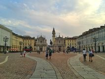 Ville de Turin Image libre de droits