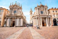 Ville de Turin en Italie photos libres de droits