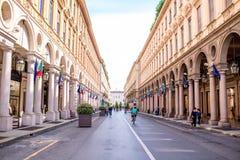 Ville de Turin en Italie image libre de droits