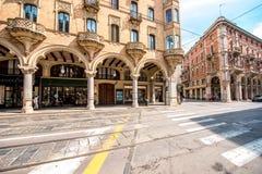 Ville de Turin en Italie images stock