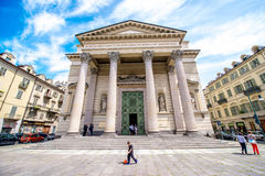 Ville de Turin en Italie photos stock