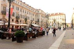 Ville de Turin, Italie Photographie stock libre de droits