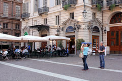 Ville de Turin, Italie Photos libres de droits