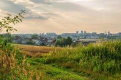 Ville de Tychy, Pologne Photos stock