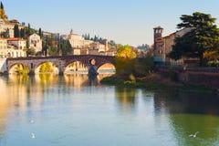 Ville de Vérone l'Italie Photographie stock libre de droits