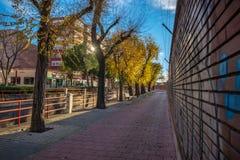 Ville de Valladolid en Espagne photo libre de droits