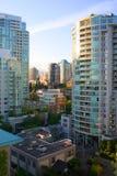 Ville de Vancouver Photos libres de droits