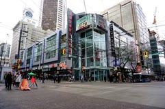 Ville de Vancouver Images libres de droits