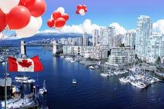 Ville de Vancouver Photos stock