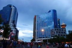 Ville de Vancouver, Canada Images libres de droits