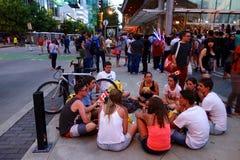 Ville de Vancouver, Canada Photographie stock libre de droits