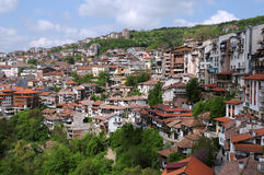 Ville de Veliko Tarnovo Photos stock