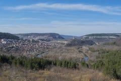 Ville de Veliko Tarnovo Photos libres de droits