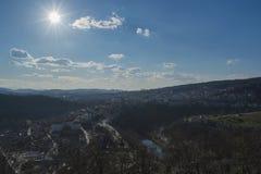 Ville de Veliko Tarnovo Photos stock