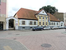 Ville de Ventspils, Lettonie images stock