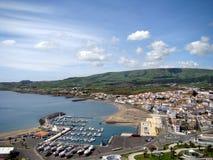 Ville de Vitoria - île de Terceira Photographie stock libre de droits