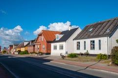 Ville de Vordingborg au Danemark images stock