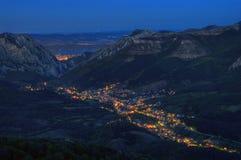 Ville de Vratsa, Bulgarie Images stock