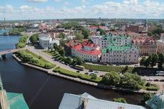 Ville de Vyborg photos libres de droits