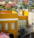 Ville de Willemstad en le Curaçao images stock