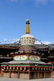 Ville de Zhongdian, province de Yunnan Image libre de droits