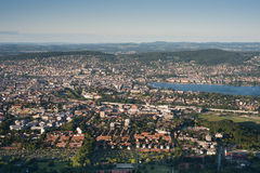 Ville de Zurich Image libre de droits