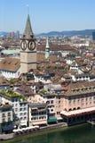 Ville de Zurich, Suisse images libres de droits