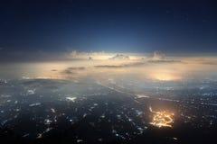 Ville des étoiles Image libre de droits