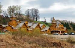 Ville des artisans dans Gorodets photos libres de droits
