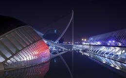 Ville des arts et des sciences, les Cièn de Ciutat de les Arts i de La Photographie stock libre de droits