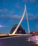 Ville des arts et des sciences Valencia Spain Image libre de droits