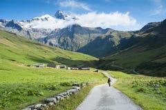 Ville des Glaciers Stock Images