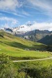 Ville des Glaciers Stock Photo