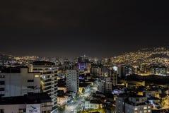 Ville des lumières Images libres de droits